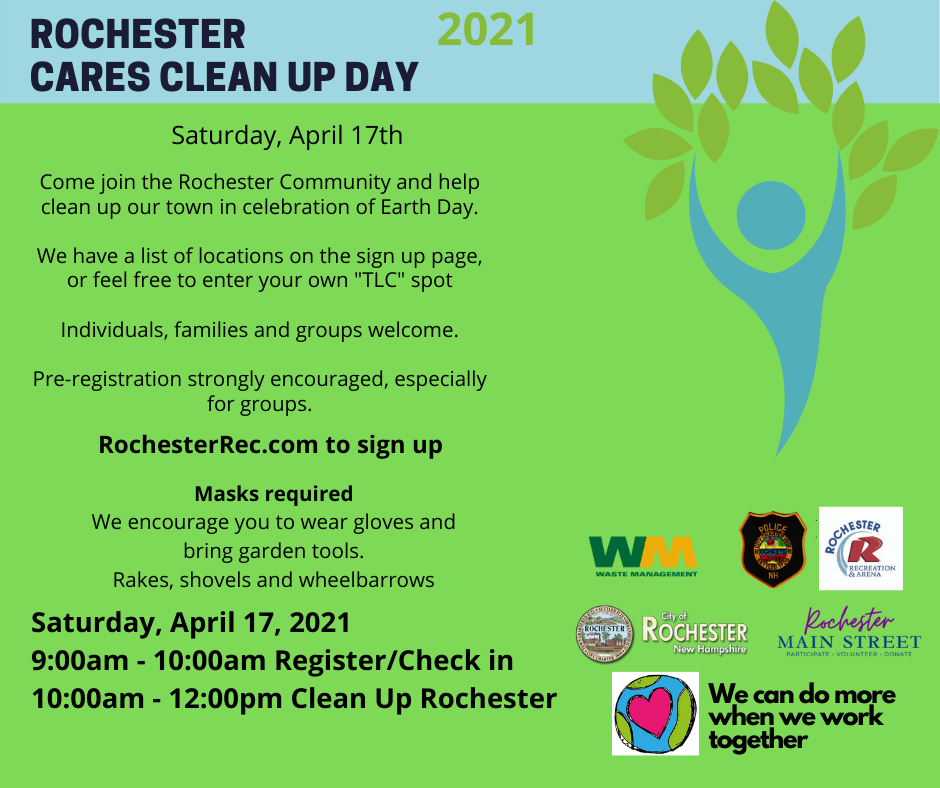Rochester Cares Clean Up Day